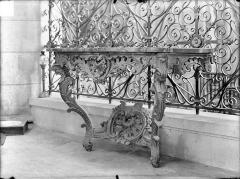 Cathédrale Saint-Etienne - Console