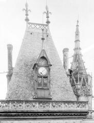Hôtel ou Palais Jacques-Coeur - Toiture du grand escalier et tourelle octogonale