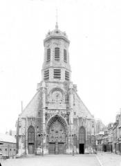 Eglise Saint-Léonard - Vue d'ensemble ouest