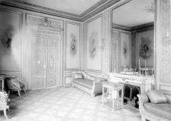 Palais de l'Elysée - Salon d'argent, porte et cheminée