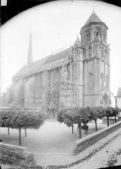 Eglise Sainte-Radegonde - Vue d'ensemble nord-ouest