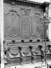 Cathédrale Saint-Bénigne - Stalles du choeur