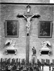 Cathédrale Saint-Bénigne - Grand calvaire, vue d'ensemble