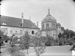 Hospice Sainte-Anne - Vue d'ensemble sur les jardins