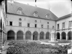 Hospice Sainte-Anne - Cloître : jardin et galerie