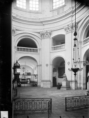 Hospice Sainte-Anne - Chapelle Sainte-Anne : Vue intérieure de la rotonde