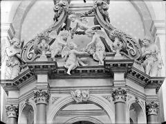 Hospice Sainte-Anne - Maître-autel, baldaquin