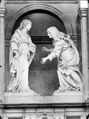 Hospice Sainte-Anne - Maître-autel, La Visitation