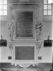 Hospice Sainte-Anne - Chapelle Sainte-Anne : Monument funéraire de Pierre Odebert