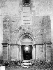 Eglise Saint-Jean-l'Evangéliste - Façade ouest : Portail