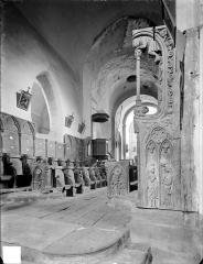 Eglise Saint-Jean-l'Evangéliste - Stalles du choeur, côté nord