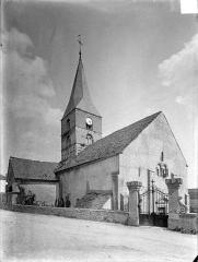 Eglise et son cimetière - Ensemble nord-ouest