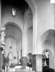 Eglise Saint-Vorles - Vue intérieure du transept
