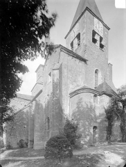 Eglise Saint-Vorles - Ensemble nord-ouest