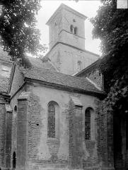 Eglise Saint-Vorles - Tour-clocher à la croisée du transept