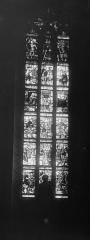 Eglise Saint-Nicolas - Vitrail : Vie de saint Vorle
