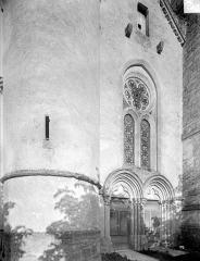 Eglise - Façade ouest : partie inférieure