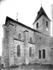 Eglise de la Nativité - Angle nord-est et clocher