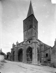 Eglise - Angle sud-ouest