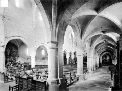 Eglise Notre-Dame - Bas-côté sud et nef