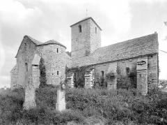 Eglise Saint-Marcel - Vue d'ensemble nord