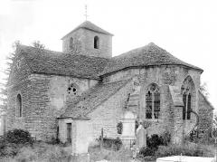 Eglise Saint-Marcel - Vue d'ensemble sud-est