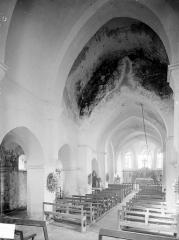Eglise Saint-Marcel - Nef et choeur