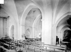Eglise Saint-Marcel - Transept, vue diagonale