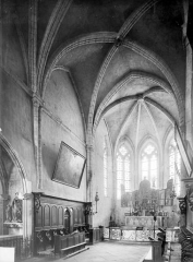 Ancienne abbaye - Vue intérieure du choeur