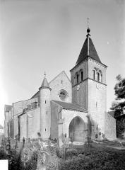 Eglise Notre-Dame des Ardents ou Saint-Christophe - Ensemble nord-ouest