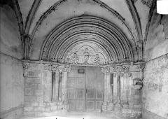 Eglise Notre-Dame des Ardents ou Saint-Christophe - Portail de la façade ouest