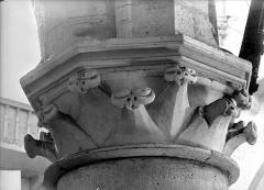 Eglise Notre-Dame des Ardents ou Saint-Christophe - Chapiteau de la nef