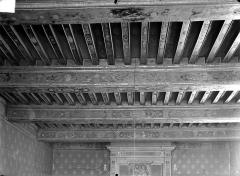 Palais de Justice - Salle des avocats : plafond