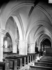 Eglise de la Nativité - Vue intérieure du bas-côté sud
