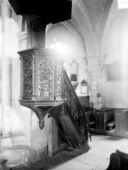 Eglise de la Nativité - Chaire