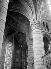 Cathédrale Saint-Gervais et Saint-Protais - Vue intérieure du déambulatoire : voûtes