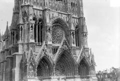 Cathédrale Notre-Dame - Façade ouest : partie inférieure