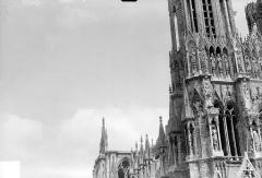 Cathédrale Notre-Dame - Tour nord, côté nord-ouest