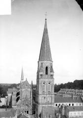 Ancienne abbaye de la Trinité - Clocher