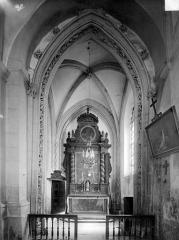 Eglise - Chapelle des Chalon-Arlay : vue intérieure