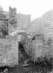 Château (restes du) - Entrée, côté sud