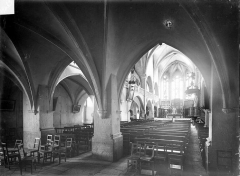 Eglise Notre-Dame de l'Assomption - Vue intérieure de la nef, vers le nord-est
