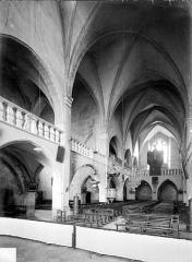 Eglise Notre-Dame de l'Assomption - Vue intérieure de la nef, vers le sud-ouest