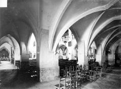 Eglise Notre-Dame de l'Assomption - Vue intérieure du bas-côté nord et de la nef