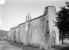 Chapelle de Saint-Romain-de-Roche - Ensemble nord-ouest