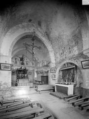 Chapelle de Saint-Romain-de-Roche - Vue intérieure du choeur
