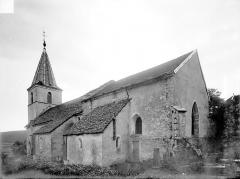 Eglise du hameau de Saint-Christophe - Ensemble sud-est