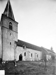 Eglise du hameau de Saint-Christophe - Ensemble sud