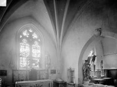 Eglise Sainte-Madeleine - Chapelle seigneuriale : vue intérieure