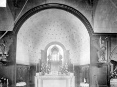 Eglise Saint-Martin - Vue intérieure du choeur